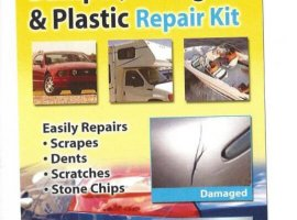 Quick 20 Minute Cure Bumper, Fiberglass & Plastic Repair Kit