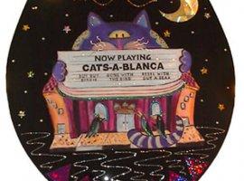 Cats-A-Blanca Cat Toilet Seat - Elongated