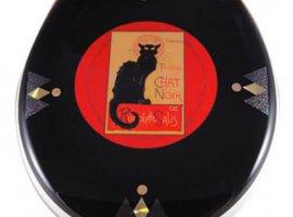 Chat Noir Toilet Seat - Elongated