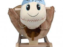 Homer Baseball Baby Rocker