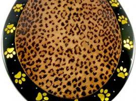 Leopard Print Toilet Seat - Elongated
