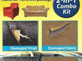 Liquid Leather Heat Cure Deluxe Vinyl & Fabric Repair kit