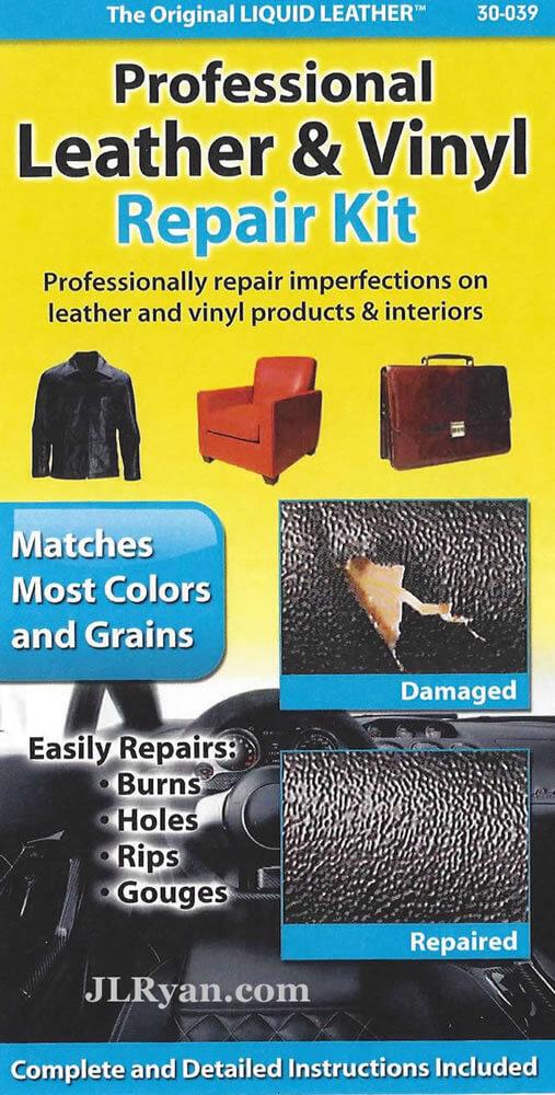 Liquid Leather Pro Leather Amp Vinyl Repair Kit Jl Ryan