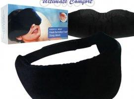 Heat Sensitive Memory Foam Sleep Mask