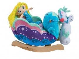 Mermaid Princess Carriage Rocker (Premium Vehicles)