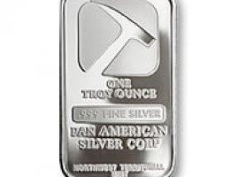 Pan American Silver Bullion - 1oz - Silver Bar