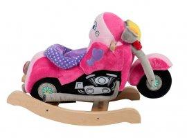 Lil' Biker Pink Motorcycle Baby Rocker
