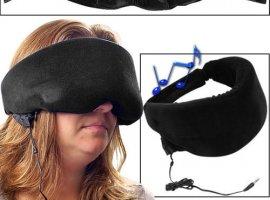 Heat Sensitive Memory Foam Sleep Mask with Music Input