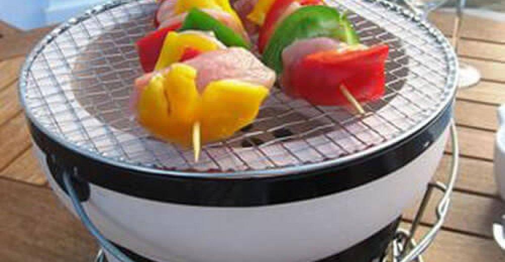 round-yakatori-charcoal-grill