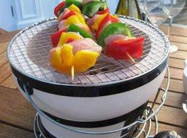 Fire Sense HotSpot Round Yakatori Charcoal Grill