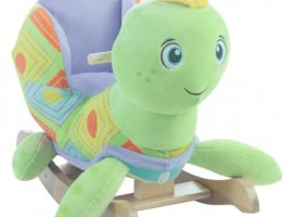 Sammie Sea Turtle Baby Rocker