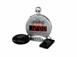 Sonic Alert The Skull with Bone Crusher Alarm Clock
