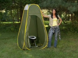 The Travel Toilet - Complete Package (White)