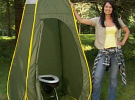 The Travel Toilet - Privacy Pop Up