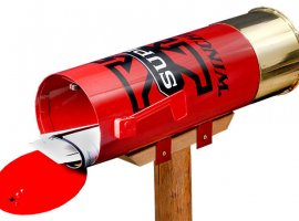"""Winchester """"Super X"""" Shotshell Mailbox"""